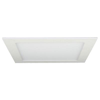Luminária Painel Led Quadrado de Embutir 6w 12x12cm 3000k Luz Branca Amarelada 330 Lúmens 432952 Brilia