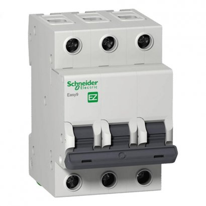 Disjuntor 3 X 125a  -  Ez9f33392 - Schneider