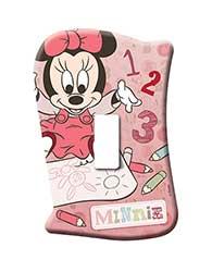 Placa Sem Interruptor Minnie Baby - 120900028 - Startec