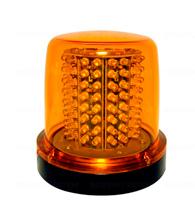 GiroLed com 64 leds com fixação por parafuso 12V Luz Ambar - 41504 - Iluctron