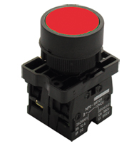 Botão a Impulsão Normal Vm 22,5mm - Slprn1nf - Steck