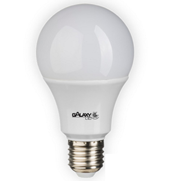 Lâmpada Led Bulbo 7W 3000K Branca Quente Bivolt  550 Lumens E27 140115003 Galaxy