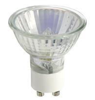 Lâmpada Dicróica Halógena  50W 220V Luz Branca Quente  (Amarela) GU10  01387  Ourolux