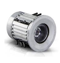 Mini Spot Balizador Com 5 Leds Luz Azul  - 70060 -  Iluctron