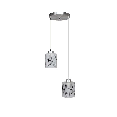 Pendente Austrália Para 2 Lâmpadas E27 Pd1644/2 Kin Light