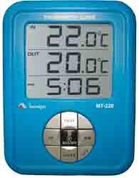 Termômetro com Relógio - MT-220 - MINIPA