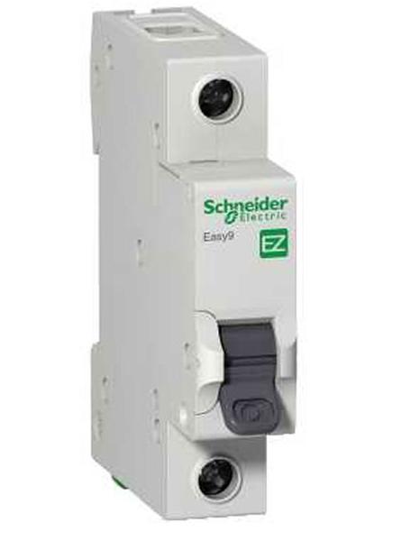 Disjuntor Unipolar 40a Cura C K32a Easy9 - Ez9f33140 - Schneider