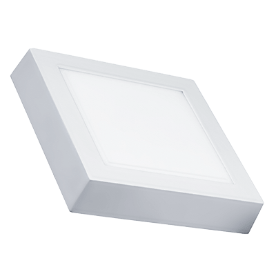Luminária Painel Led Quadrado de Sobrepor 12W 17X17CM 5700K Luz Branca Fria 820 Lúmens 433065 Brilia