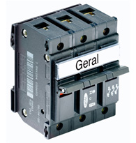 Disjuntor  Tripolar 35 Unic - 09950 - Pial Legrand