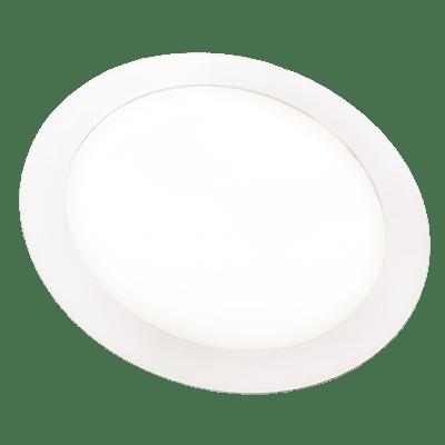 Luminária Painel Led Redondo de Embutir 24W 29,5CM Bivolt 3000K Luz Branca Amarelada 1550 Lúmens 433034 Brilia