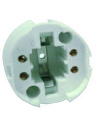 Soquete Para Lampada Pl 4 Pinos 36 W