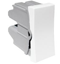 Módulo Interruptor Simples 10a 250v C/ Borne Ref. 611010 - Pial Legrand Plus