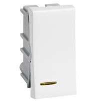 Módulo Interruptor Simples C/ Luz 10a Ref. 611020 - Pial Legrand Plus