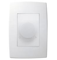 Conjunto Placa 4x2 com 1 Variador Luminoso Rotativo Bivolt Ref. 611124 - Pial Legrand Plus