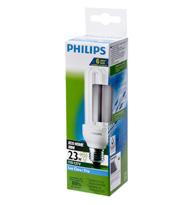 Lâmpada Eletrônica Eco Home Mini Tripla 23W X 127V Branca Fria (Luz Branca) E27 PLD23W127ECOSTK Philips