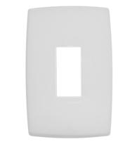 Placa 4x2 P/1 Módulo Vertical Ref. 618501 - Pial Legrand Plus
