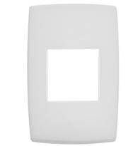 Placa 4x2 P/2 Módulos Ref. 618502 - Pial Legrand Plus