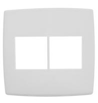 Placa 4x4 P/2   2 Módulos Ref. 618512 - Pial Legrand Plus