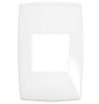 Placa Gloss 4x2 P/2 Módulos Ref. 618522 - Pial Legrand Plus