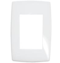 Placa Gloss 4x2 P/3 Módulos Ref. 618523 - Pial Legrand Plus