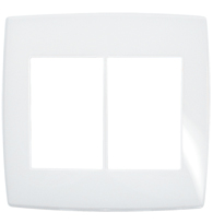 Placa Gloss 4x4 P/3 + 3 Módulos Ref. 618536 - Pial Legrand Plus