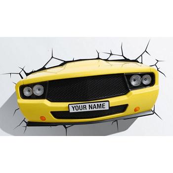 Arandela Led 3D Yellow Car 121400012 Startec