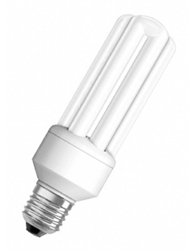 Lâmpada Eletrônica Tripla 15W X 220V Branca Fria  (Luz Branca) E27 Duluxstar 7008377  Osram