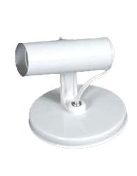 Spot Tubinho Branco E27 Para 1 Lâmpada Até 60w - Sp16881br - Kin Light