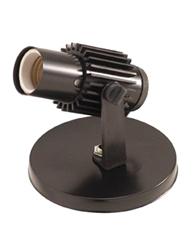 Spot Aletado Preto E27 Para 1 Lâmpada Até 60w - Sp17321pt - Kin Light