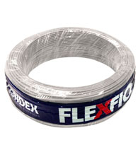 Cabo Fio Flexível 0,50mm 750V Rolo 100 Metros Branco - 09001 BR - Condex