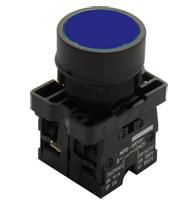 Botão a Impulsão Normal Az 22,5mm Steck - Steck Código: Sl-prn4/az