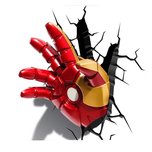 Arandela Led 3D Mão do Homem de Ferro 121400002 Startec