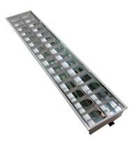 Luminária Embutir 2x32 Forro Isopor sem Troca- B Bauer -  SH03-236/A - B.BAUER