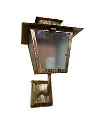 Lanterna L-6-b Ouro Velho Brado Para Cima - L-6-b Ov - Lustres Ideal