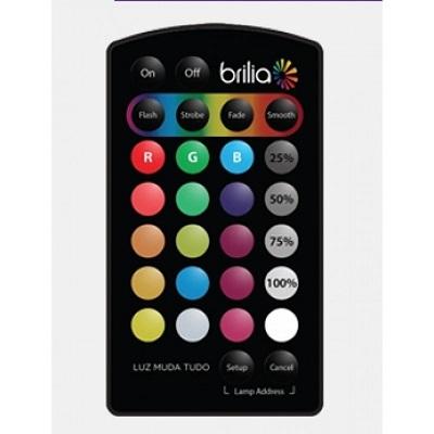 Controle Remoto Slim P/Fitas Led RGB 910043 Brilia