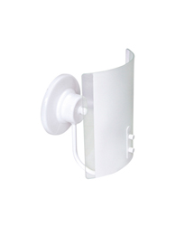 Arandela Calha Branco e Fosco - 580-BR/FC - Emalustres