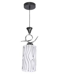 Pendente com Canopla Redonda Para 1 Lâmpada E27 de Até 25W - Grafics -  19371 - Kin Light