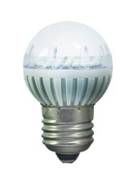 Lâmpada Bolinha 3W Bivolt 3500K  (Luz Amarela) LED 150LM 53700 Iluctron