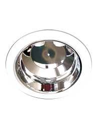 Luminária de Embutir Redonda Branca Para 2 Lâmpadas de 26w E27 Sem Vidro - 459 226/sv - Spot Jaguara