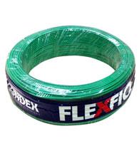 Cabo Fio Flexível 1,0mm 750V Rolo 100 Metros Verde - 09003 VD - Condex