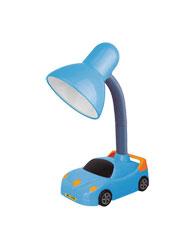 Lumin�ria de Mesa Carros Para 1 L�mpada E27 Azul LMB501AZ - Kin Light