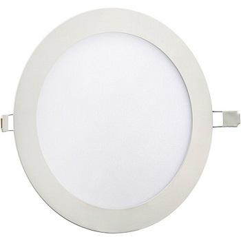 Painel Led de Embutir Redondo 4w Bivolt 3000k Luz Branca Amarelada 420 Lumens 9061 Gaya