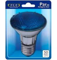 Lâmpada Par 20 50W X 127V Azul E27 - 02030098 - FLC