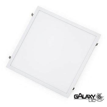Painel Led Quadrado de Embutir 24W 30X30CM 6000K Luz Branca Fria Bivolt 140114012 Galaxy