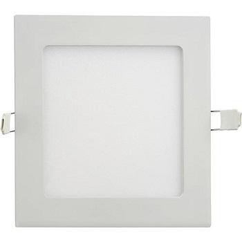 Painel Led de Embutir Quadrado 4w 3000k Luz Branca Amarelada  220 Lumens 9063 Gaya