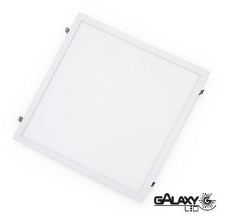 PLAFON LED EMB 18W 22X22CM AMARELO QUADRADO - 140130006 - GALAXY