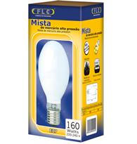 Lâmpada Mista 160W X 220V Branca Quente (Luz Amarela) - E27 - 03040011 - FLC