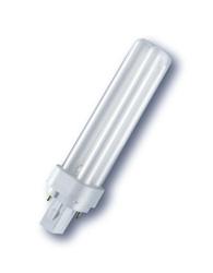 Lâmpada Compacta PL 2 Pinos 18W X 12V Branca Fria (Luz Branca) - Embalagem com 10 peças - 7000459 - Osram