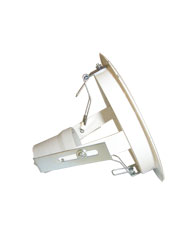 Luminária de Embutir Redonda Branca Dirigível Para 1 Lâmpada Par 38 90/100w - 460 - Spot Jaguara