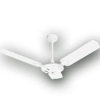 Ventilador de Teto Comercial ECO (sem lustre) com 3 pás 110v Branco 36-3100 Venti-Delta